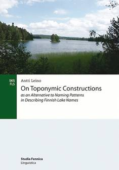 On toponymic constructions as an alternative to naming patterns in describing Finnish lake names