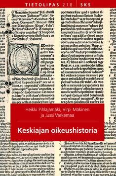 Keskiajan oikeushistoria