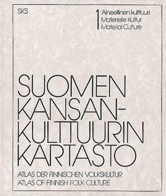 Suomen kansankulttuurin kartasto 1.Ain.
