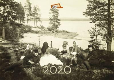 I. K. Inha Karjalassa -seinäkalenteri 2020